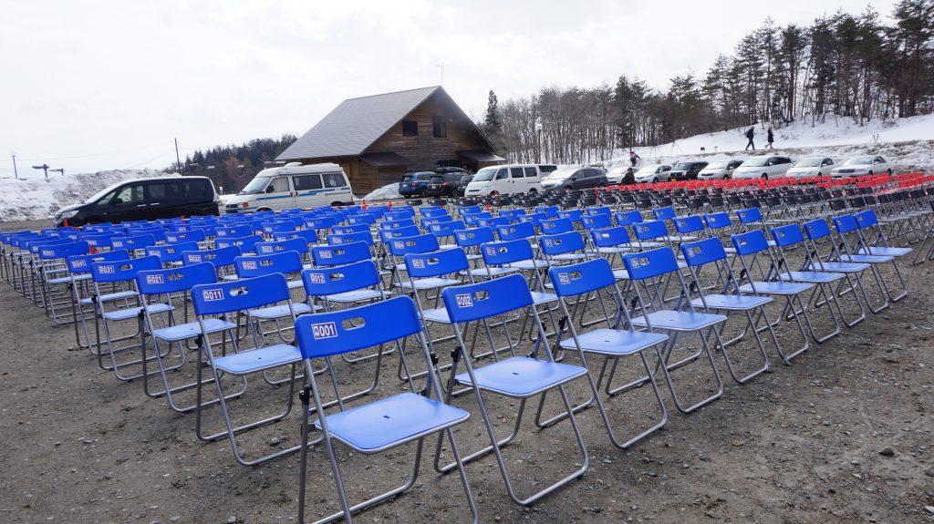 秋田県大仙市でパイプ椅子レンタル